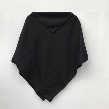 Poncho schwarz RS